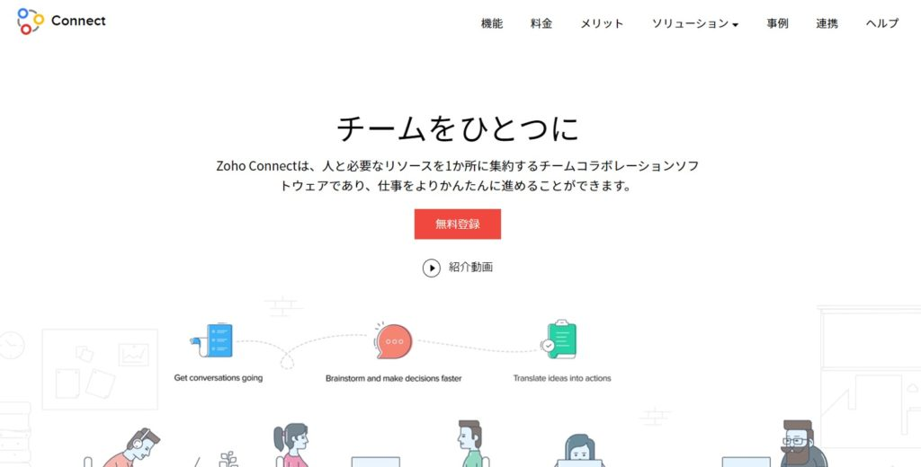 Zoho Connect (ゾーホー・コネクト)